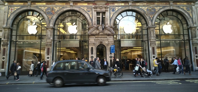 apple store regent street london