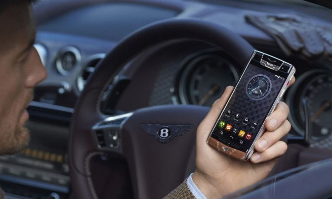 vertu bentley smartphone más caro del mundo