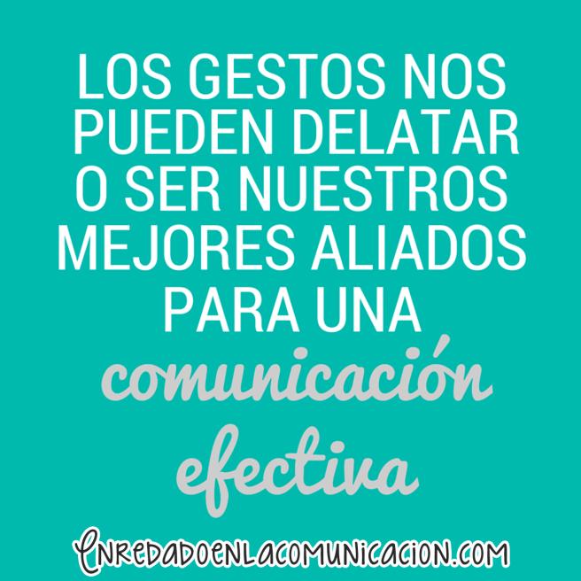 comunicación no verbal comunicación gestual gestos